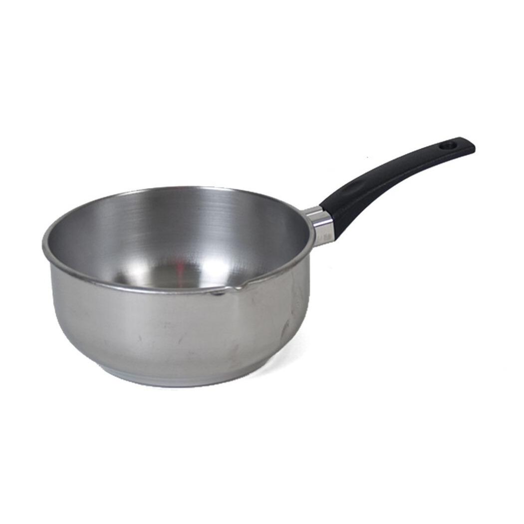 Rvs steelpan sauspan van 14 cm 10287508