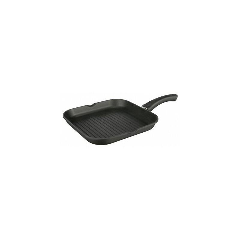Zwarte grillpan 24 cm